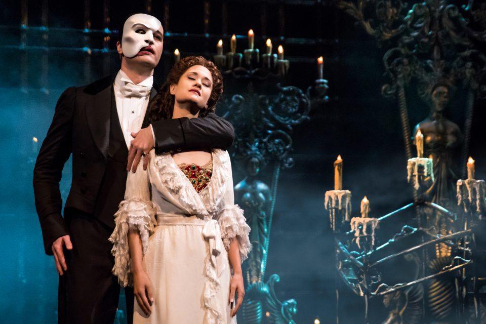 2A-Ben Crawford as The Phantom & Ali Ewoldt as Christine by Matthew Murphy