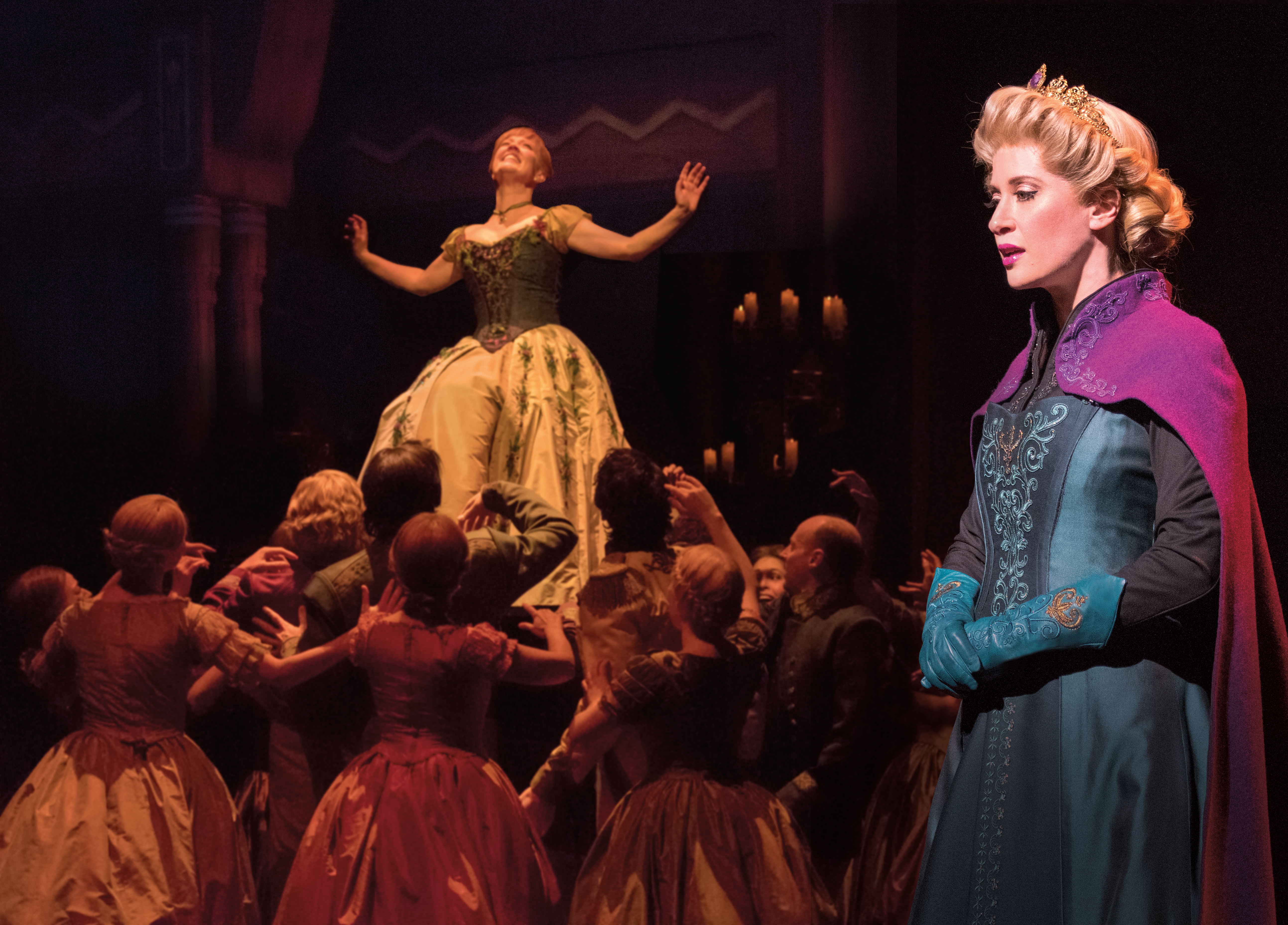 Patti-Murin-Anna-Caissie-Levy-Elsa-and-the-Company-of-FROZEN-on-Broadway-Lift.-Photo-by-Deen-van-Meer.jpg